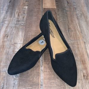 Seychelles Ruby Textured Pointed Toe Flats New 7